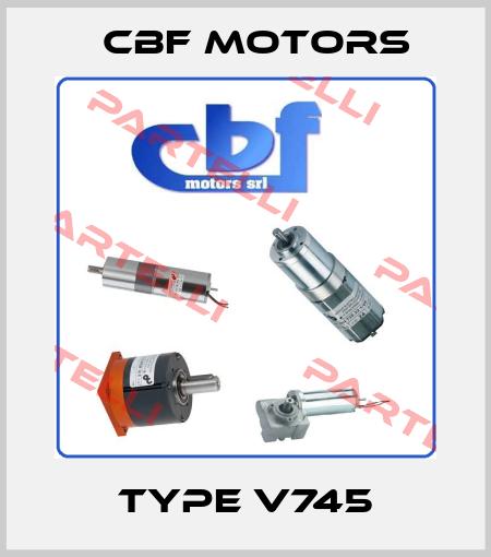 Cbf Motors-TYPE V745 price