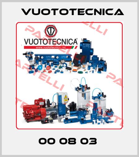 Vuototecnica-00 08 03  price