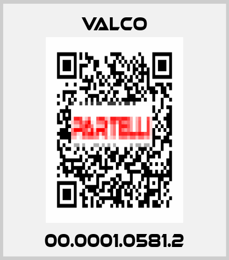 Valco-00.0001.0581.2 price