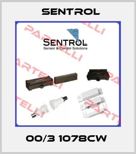Sentrol-00/3 1078CW  price