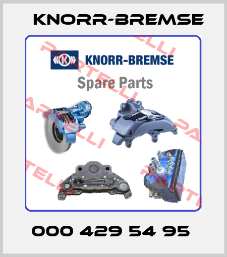Knorr-Bremse-000 429 54 95  price