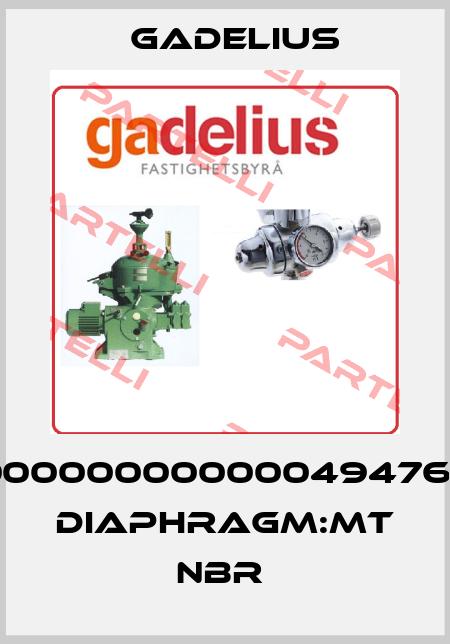 Gadelius-000000000000494767  DIAPHRAGM:MT NBR  price