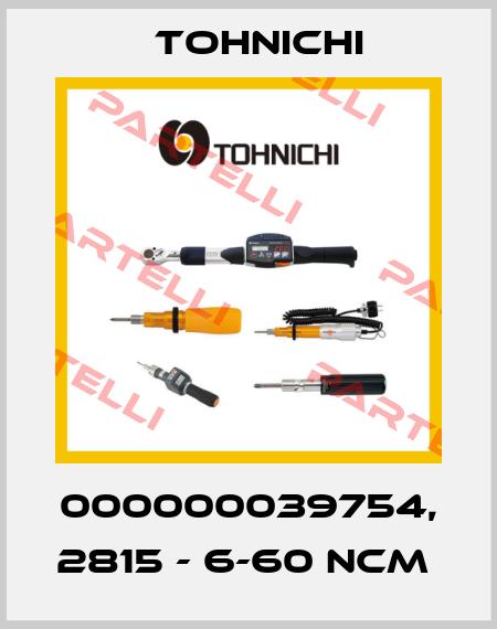 Tohnichi-000000039754, 2815 - 6-60 NCM  price
