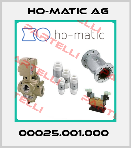 Ho-Matic AG-00025.001.000  price