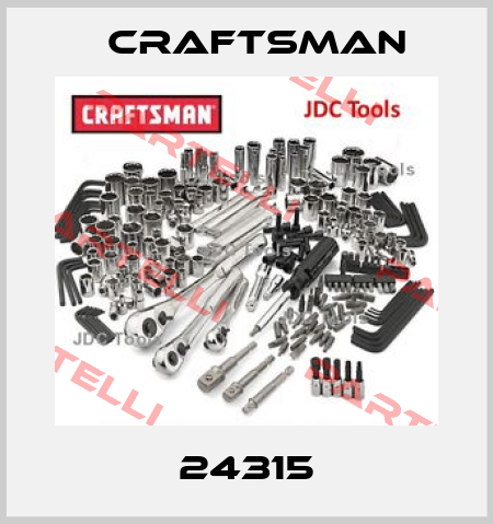 Craftsman- 24315  price