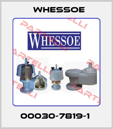 Whessoe-00030-7819-1  price