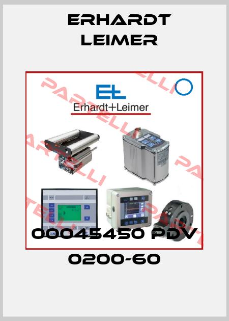 Erhardt Leimer-00045450 PDV 0200-60  price