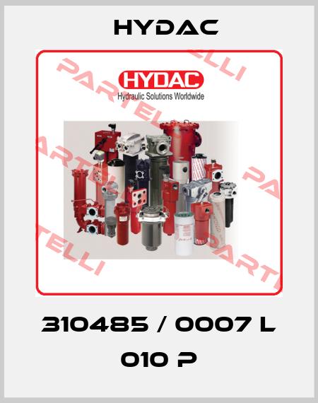 Hydac-310485 / 0007 L 010 P price