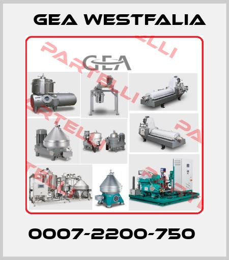 Gea Westfalia-0007-2200-750  price