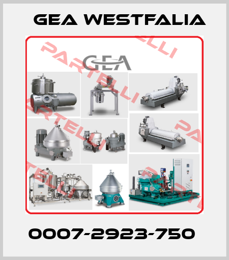 Gea Westfalia-0007-2923-750  price
