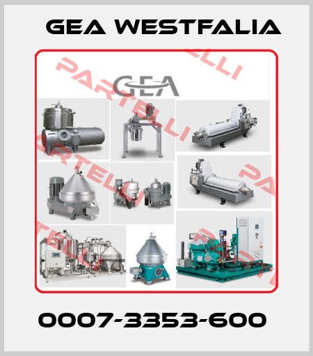 Gea Westfalia-0007-3353-600  price