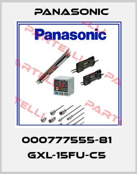 Panasonic-000777555-81  GXL-15FU-C5  price