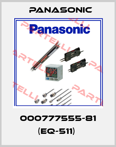 Panasonic-000777555-81 (EQ-511)  price