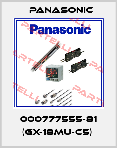 Panasonic-000777555-81 (GX-18MU-C5)  price