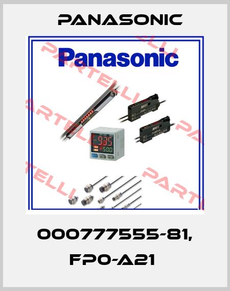 Panasonic-000777555-81, FP0-A21  price