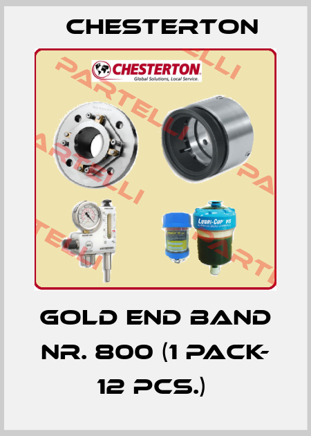 Chesterton-Gold End Band Nr. 800 (1 pack- 12 pcs.)  price
