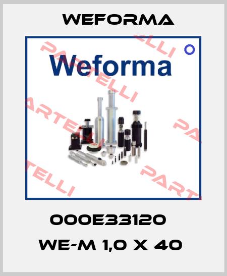 Weforma-000E33120   WE-M 1,0 X 40  price