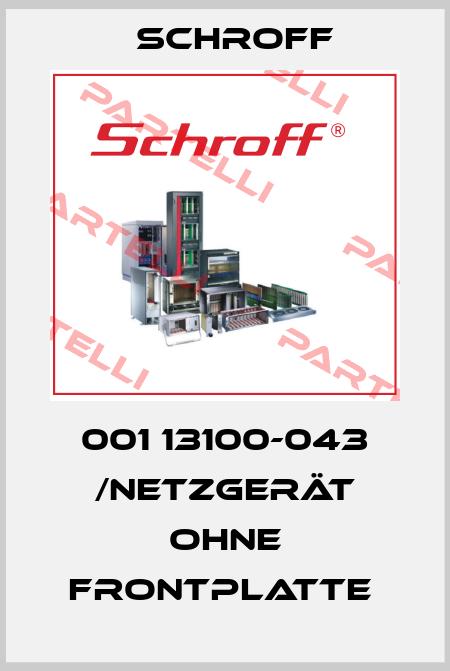 Schroff-001 13100-043 /Netzgerät ohne Frontplatte  price