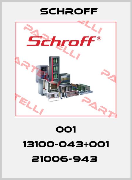 Schroff-001 13100-043+001 21006-943  price