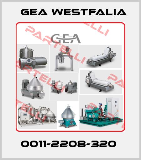 Gea Westfalia-0011-2208-320  price