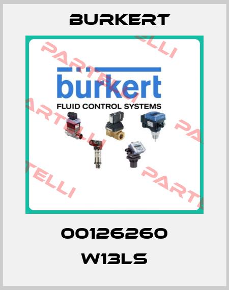 Burkert-00126260 W13LS  price