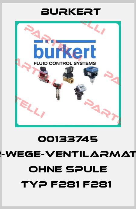 Burkert-00133745 2/2-WEGE-VENTILARMATUR OHNE SPULE TYP F281 F281  price