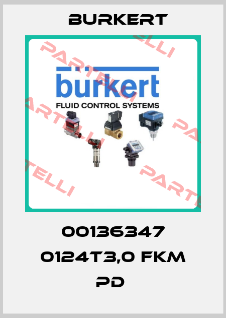 Burkert-00136347 0124T3,0 FKM PD  price