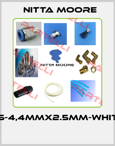Nitta moore-FS-4,4MMX2.5MM-WHITE  price