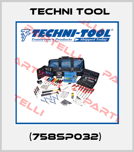 Techni Tool-(758SP032)  price