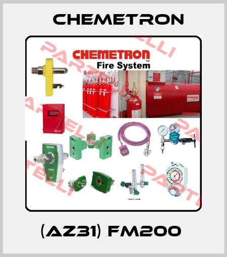 Chemetron-(AZ31) FM200  price
