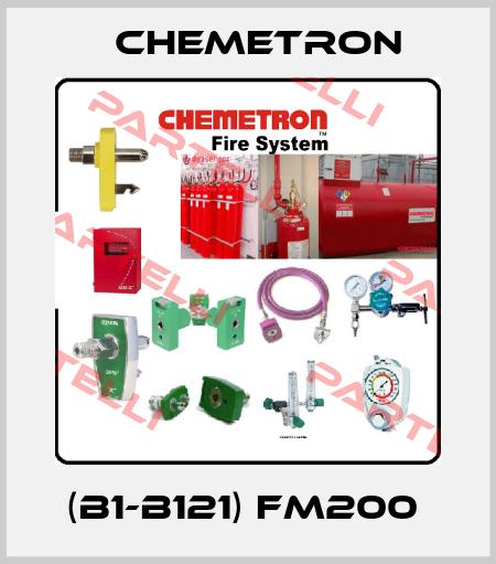 Chemetron-(B1-B121) FM200  price