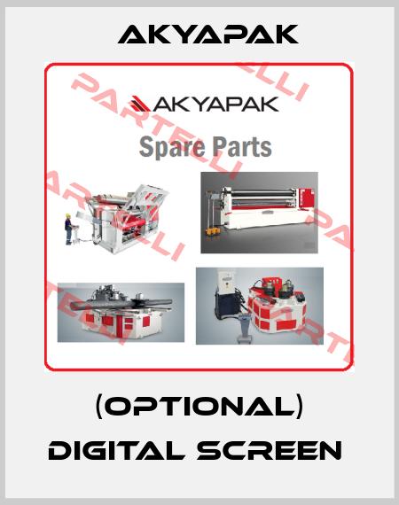 Akyapak-(OPTIONAL) DIGITAL SCREEN  price