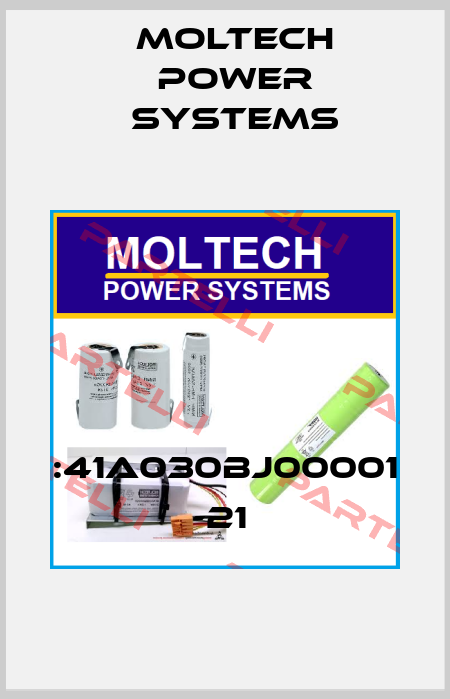 Moltech Power Systems-:41A030BJ00001 -21  price