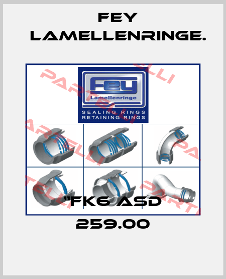 "Fey lamellenringe.-""FK6 ASD 259.00 price"
