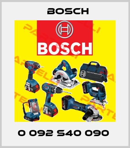Bosch-0 092 S40 090  price