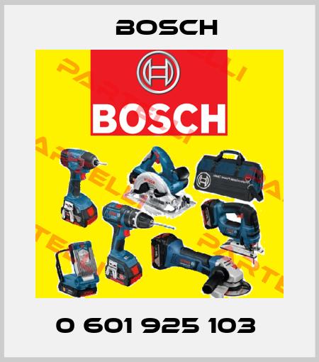 Bosch-0 601 925 103  price