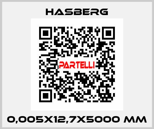Hasberg-0,005X12,7X5000 MM  price