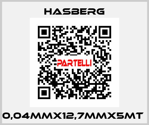 Hasberg-0,04MMX12,7MMX5MT  price
