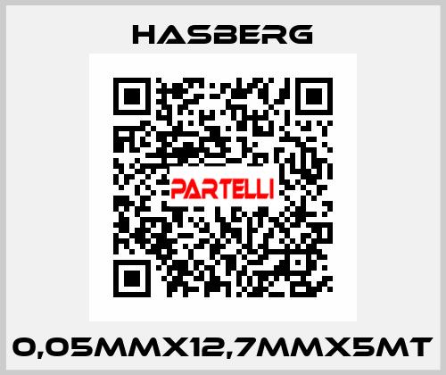 Hasberg-0,05MMX12,7MMX5MT  price