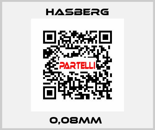 Hasberg-0,08MM  price