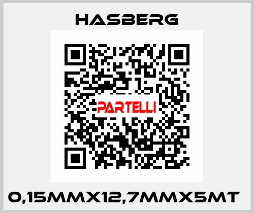 Hasberg-0,15MMX12,7MMX5MT  price