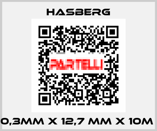 Hasberg-0,3MM X 12,7 MM X 10M  price