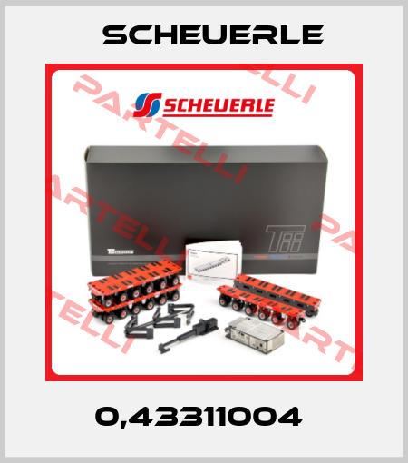 Scheuerle-0,43311004  price