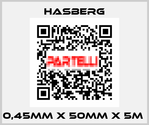 Hasberg-0,45MM X 50MM X 5M  price