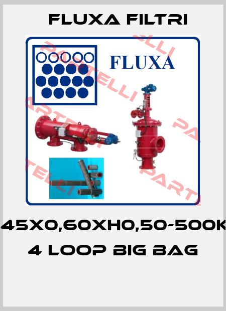 Fluxa Filtri-0,45X0,60XH0,50-500KG 4 LOOP BIG BAG  price