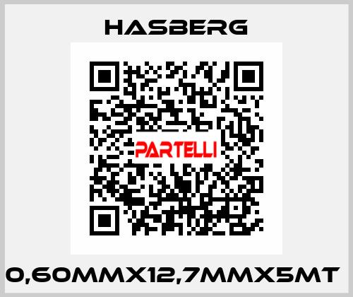 Hasberg-0,60MMX12,7MMX5MT  price