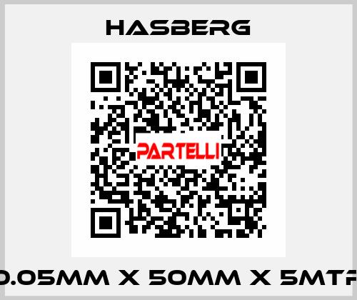 Hasberg-0.05MM X 50MM X 5MTR  price