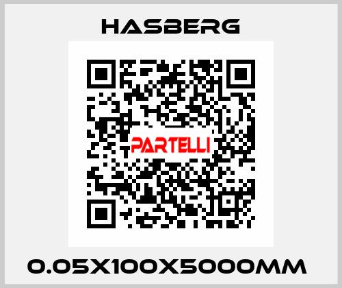 Hasberg-0.05X100X5000MM  price