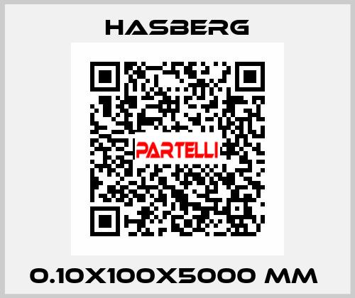 Hasberg-0.10X100X5000 MM  price