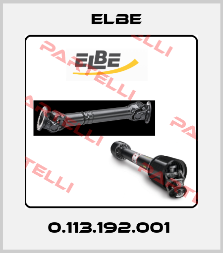 Elbe-0.113.192.001  price